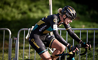 Ellen Van Loy (BEL/Telenet Baloise Lions) riding the spit off her face<br /> <br /> Womens Race<br /> 42nd Superprestige cyclocross Gavere 2019<br /> <br /> ©kramon