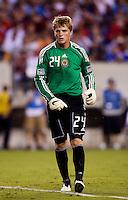 Brian Perk. Manchester United defeated Philadelphia Union, 1-0.