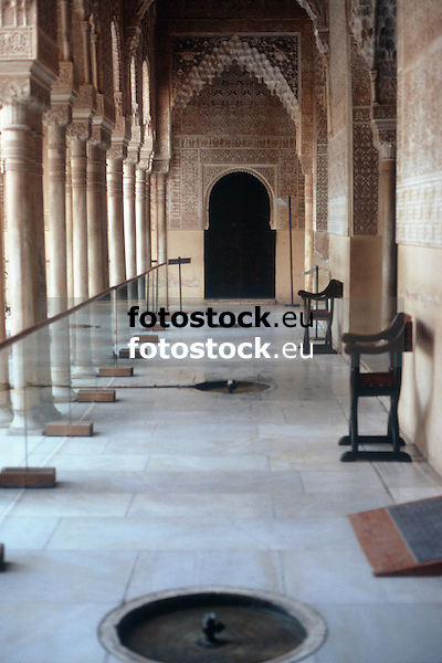 Court of the Lions in the Alhambra Palace<br /> <br /> Patio de los Leones en el Palacio de Alhambra<br /> <br /> Löwenhof im Alhambra Palast<br /> <br /> 3898 x 2602 px<br /> Original: 35 mm slide transparancy