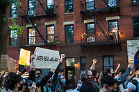 NEW YORK, NEW YORK - MAY 31: Protesters march on May 31, 2020 in New York. Protests spread across the country in at least 30 cities in the United States. USA For the death of unarmed black man George Floyd at the hands of a police officer, this is the latest death in a series of police deaths of black Americans (Photo by Pablo Monsalve / VIEWpress via Getty Images)