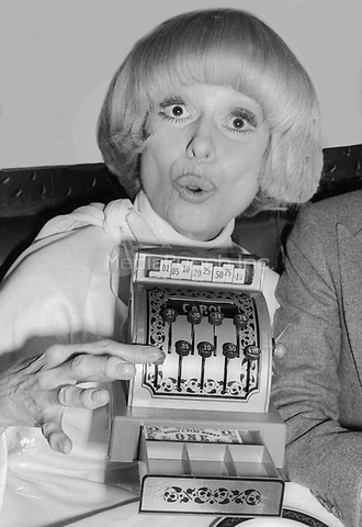 Carol Channing 1978<br /> Photo By Adam Scull/PHOTOlink/MediaPunch