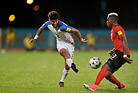 Couva, Trinidad & Tobago - Tuesday Oct. 10, 2017: DeAndre Yedlin during a 2018 FIFA World Cup Qualifier between the men's national teams of the United States (USA) and Trinidad & Tobago (TRI) at Ato Boldon Stadium.