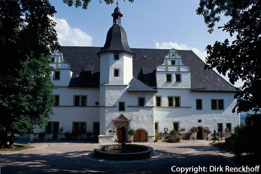 Deutschland, Thüringen, Renaissanceschloss in Dornburg