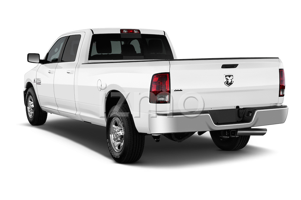 Rear three quarter view of a 2013 Ram Ram 2500 SLT Crew Cab