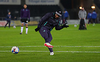 30th December 2020; Liberty Stadium, Swansea, Glamorgan, Wales; English Football League Championship Football, Swansea City versus Reading; Andre Ayew of Swansea City during the warm up