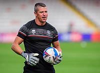 Lincoln City's first team goalkeeping coach Steve Croudson during the pre-match warm-up<br /> <br /> Photographer Chris Vaughan/CameraSport<br /> <br /> The EFL Sky Bet League One - Saturday 12th September 2020 - Lincoln City v Oxford United - LNER Stadium - Lincoln<br /> <br /> World Copyright © 2020 CameraSport. All rights reserved. 43 Linden Ave. Countesthorpe. Leicester. England. LE8 5PG - Tel: +44 (0) 116 277 4147 - admin@camerasport.com - www.camerasport.com - Lincoln City v Oxford United