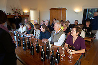 people sitting tasting wine quinta do noval douro portugal