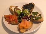 Appetizer, Gina Restaurant, Rome, Italy, Europe