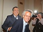 """CARLO DE BENEDETTI CON FEDERICO RAMPINI<br /> PRESENTAZIONE LIBRO """"CENTOMILA PUNTURE DI SPILLO"""" DI CARLO DE BENEDETTI  E FEDERICO RAMPINI A RESIDENCE RIPETTA ROMA 102008"""