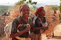 Dorze women in Ethiopia