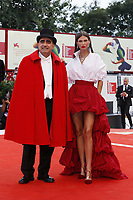 VENICE - September 2: Elio, Bianca Balti attend the 'The Sisters Brothers' Red Carpet on September 2, 2018 in Venice, Italy.(By Mark Cape/Insidefoto)