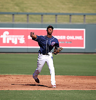 Kevin Almonte participates in the MLB International Showcase at Salt River Fields on November 12-14, 2019 in Scottsdale, Arizona (Bill Mitchell)