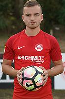 Fabian Borger (RW Walldorf) - Mörfelden-Walldorf 04.08.2020: Mannschaftsvorstellung von Hessenligist Rot-Weiss Walldorf für die Saison 2020/21