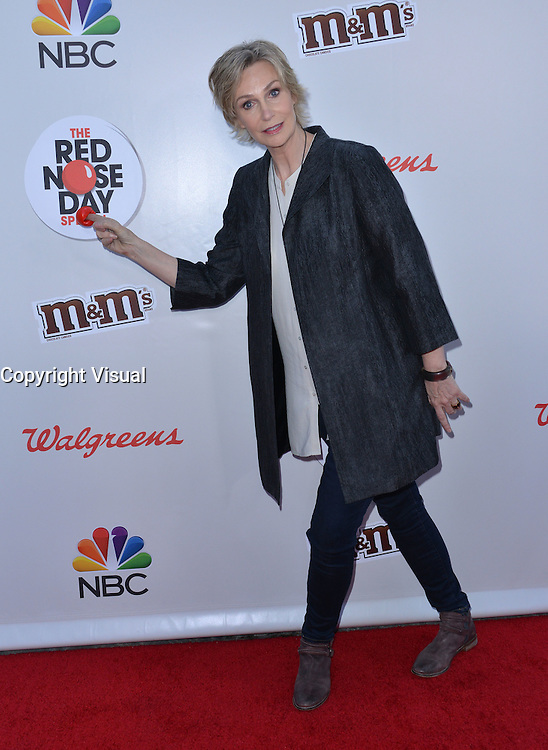 Jane Lynch @ the NBC 2016 'Red Nose Day Special' held @ the Universal Studios backlot.<br /> May 26, 2016
