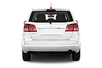 Straight rear view of a 2015 Dodge Journey American Value Package 5 Door SUV Rear View  stock images