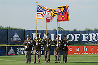 Color Guard.   Washington Freedom defeated FC. Gold Pride 3-1at the Maryland SoccerPlex, Sunday May 31, 2009.