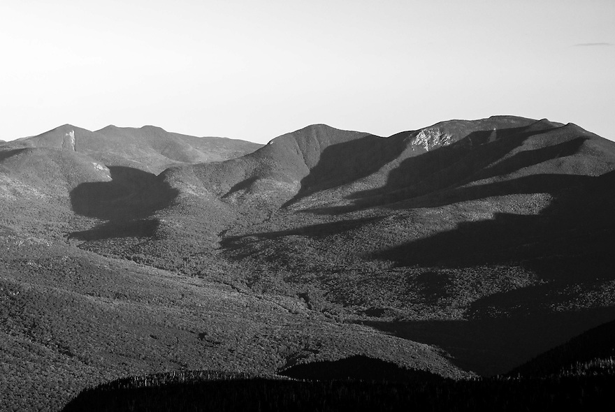Long shadows draw across the landscape.