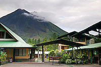 Arenal Observatory Lodge was originally built by the Smithsonian Institute for scientists to use to observe the Arenal Volcano, Costa Rica