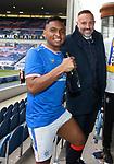 15.05.2021 Rangers v Aberdeen: Alfredo Morelos and Kris Boyd