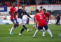 Dundee's Martin Boyle scores their fourth goal.