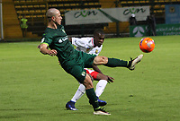 BOGOTA -COLOMBIA, 22-05-2017.Andres Crrea player of La Equidad in actions.Action game between  La Equidad and Rionegro Aguilas during match for the date 19 of the Aguila League I 2017 played at Metroplitano of Techo stadium . Photo:VizzorImage / Felipe Caicedo  / Staff