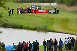 3rd June 2012 - Celtic Manor Resort - Newport - South Wales - UK :  Marcel Siem of Germany teeing off on the 13th hole at the ISPS Handa Wales Open Golf Tournament at the Celtic Manor Resort..