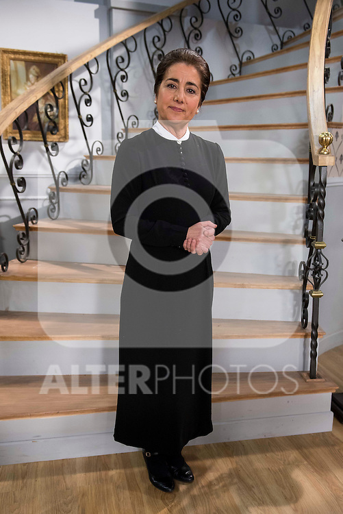 """Inma Alcantara during the presentation of the new characters for the new season of the tv series """"El Secreto de Puente Viejo""""  in Madrid, February 10, Madrid. during the presentation of the new characters for the new season of the tv series """"El Secreto de Puente Viejo""""  in Madrid, February 10, Madrid."""