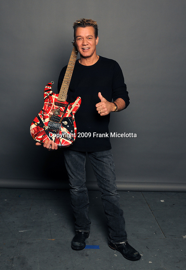 LOS ANGELES, CA - MAY 30: Eddie Van Halen backstage at Spike TV's Guys Choice Awards on May 30, 2009 in Los Angeles, California. (Photo by Frank Micelotta/PictureGroup)