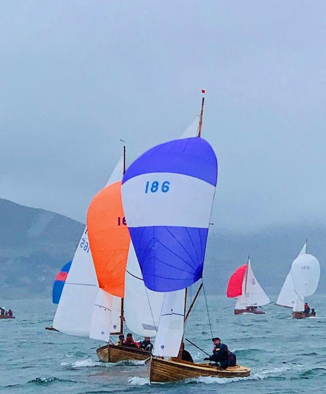 Mermaid racing in Tralee Bay