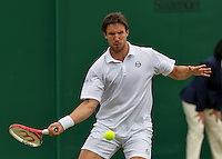 London, England, 28 june, 2016, Tennis, Wimbledon, Igor Sijsling (NED) <br /> Photo: Henk Koster/tennisimages.com