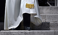 Pope Francis during of a weekly general audience at St Peter's square in Vatican.June 20, 2018