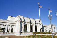 Washington D.C. : Union Station, 1908. Daniel H. Burnham, architect. Massachusetts & Indiana Avenues, N.W. Photo '85.