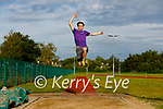 Cillian Griffin of the Tralee Harriers AC who became National U20 Long jump champion with a distance of 6.91 metres