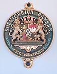 Deutschland, Bayern, Wappen des frueheren Koenigreichs Bayern | Germany, Bavaria, crest of former Kingdom Bavaria