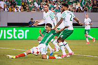 EAST RUTHERFORD, NJ - Thursday June 1, 2017:  Mexico takes on Republic of Ireland at MetLife Stadium during the 2017 Mexican National Team United States Tour.