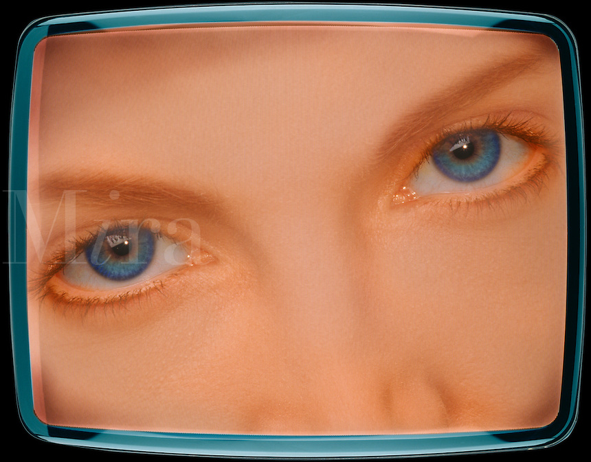 TV eyes.