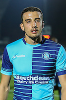 Nick Freeman of Wycombe Wanderers after the The Checkatrade Trophy match between Wycombe Wanderers and West Ham United U21 at Adams Park, High Wycombe, England on 4 October 2016. Photo by David Horn.