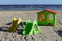 am Strand von Jurmala-Bulduri, Lettland, Europa