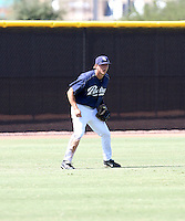 Blake Tekotte / San Diego Padres 2008 Instructional League..Photo by:  Bill Mitchell/Four Seam Images