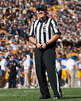 ACC Umpire Mike Morton. The North Carolina Wolfpack defeated the Pitt Panthers 35-17 at Heinz Field, Pittsburgh, PA on October 14, 2017.