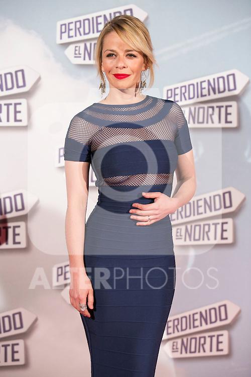 """Maria Adanez attend the """"Perdiendo El Norte"""" Movie Premiere at Capitol Cinema, Madrid,  Spain. March 05, 2015.(ALTERPHOTOS/)Carlos Dafonte)"""