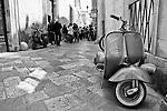 Lecce - Cortili aperti 2010 - Particolare di un vicolo del centro storico.