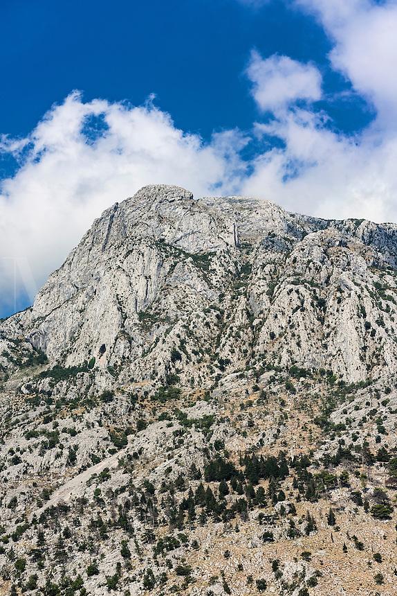 Steep mountain, Kotor, Montenegro