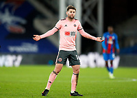 2nd January 2021; Selhurst Park, London, England; English Premier League Football, Crystal Palace versus Sheffield United; Oliver Norwood of Sheffield United