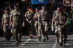 © Joel Goodman - 07973 332324 - all rights reserved . 24/08/2019. Manchester, UK. The 2019 Manchester Gay Pride parade through the city centre , with a Space and Science Fiction theme . Manchester's Gay Pride festival , which is the largest of its type in Europe , celebrates LGBTQ+ life . Photo credit: Joel Goodman/LNP