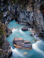 Tokumm Creek, Marble Canyon. Kooteny National Park, Canada