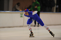 SCHAATSEN: DEVENTER: IJsstadion De Scheg, 13-10-2013, Nationale schaatswedstrijd de IJsselcup, ©foto Martin de Jong