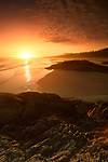 Beautiful scenery in dramatic sunset light at Pacific Rim National Park Long Beach. Tofino, Vancouver Island, BC, Canada. Image © MaximImages, License at https://www.maximimages.com