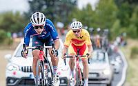 Gianluca Brambilla (ITA/Trek-Segafredo)<br /> <br /> Men's Elite Road Race from Imola to Imola (258km)<br /> <br /> 87th UCI Road World Championships 2020 - ITT (WC)<br /> <br /> ©kramon