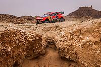 7th January 2021; Riyadh to Buraydah, Saudi Arabia; Dakar Rally, stage 5;  305 Loeb Sebastien (fra), Elena Daniel (mco), Hunter, Bahrain Raid Xtreme, Auto, BRX, action during the 5th stage of the Dakar 2021 between Riyadh and Buraydah, in Saudi Arabia on January 7, 2021